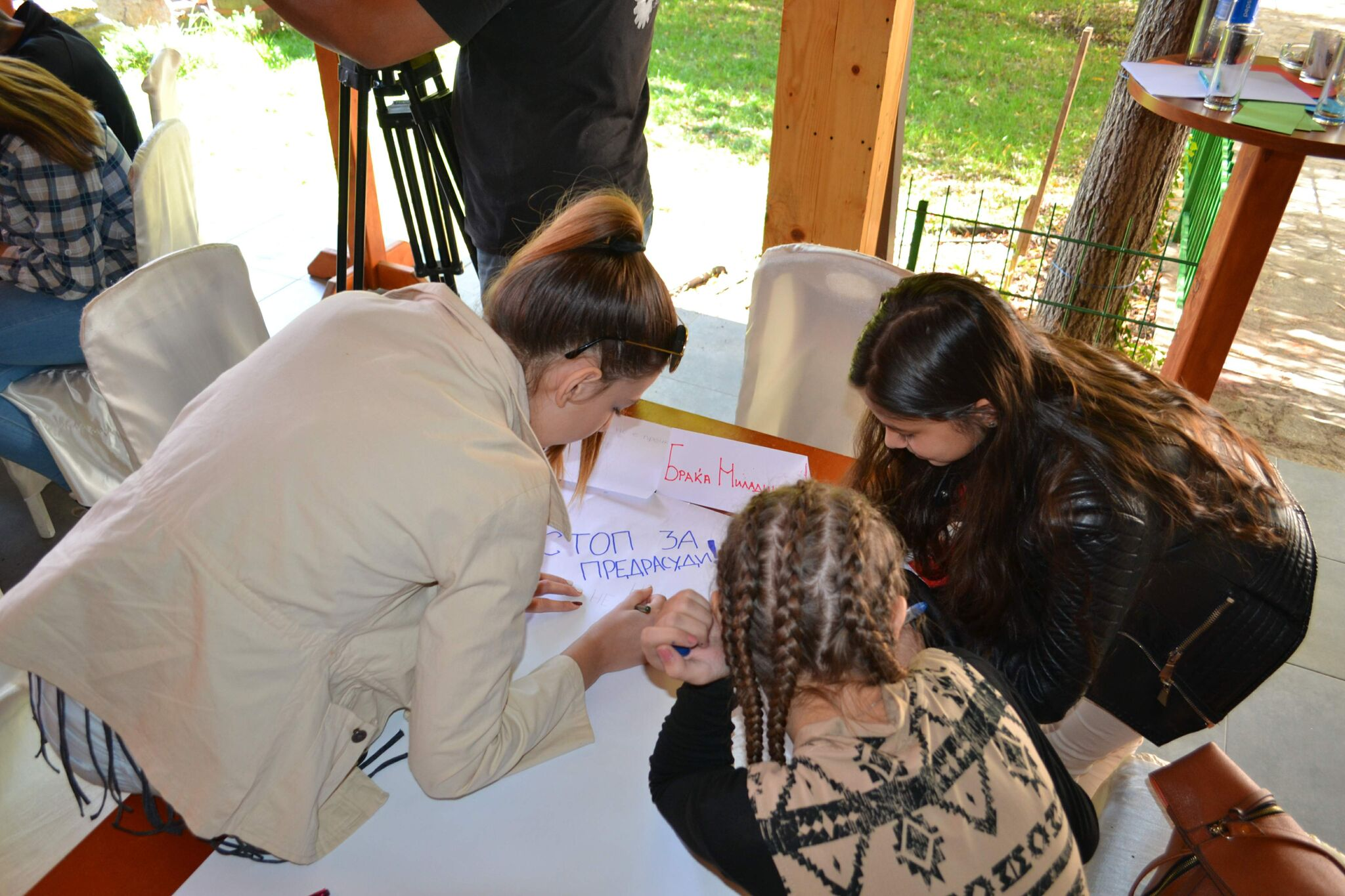 """Launching a campaign """"Go beyond prejudice, meet the Roma"""
