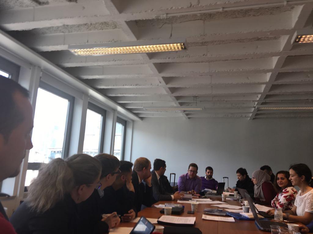 Brussel march 2018 ERGO.ENAR Roma strategy preparatory meeting