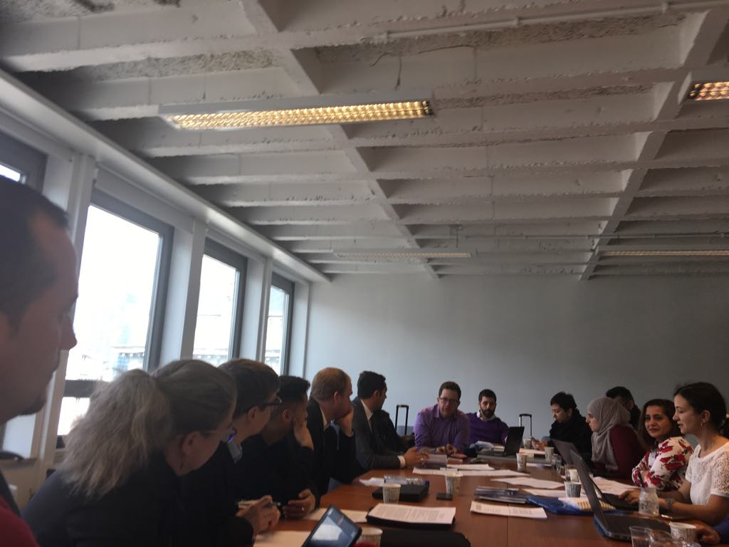Brussel march 2018 ERGO.ENAR Roma strategy preparatory meeting